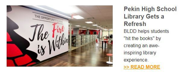 Pekin High School Library Gets a Refresh
