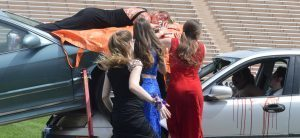 Prom season reenactment shows students worst case consequences of alcohol, drug use