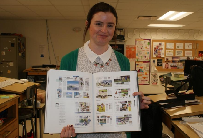 Pekin Community High School yearbook featured in 'best of' yearbook publication