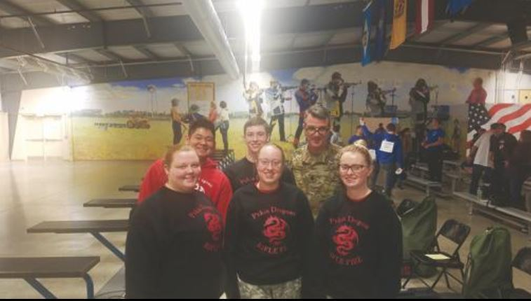 PCHS JROTC sends air rifle team to national service competition