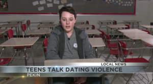 Is it happening to your teen? Pekin students get lesson on dating violence.