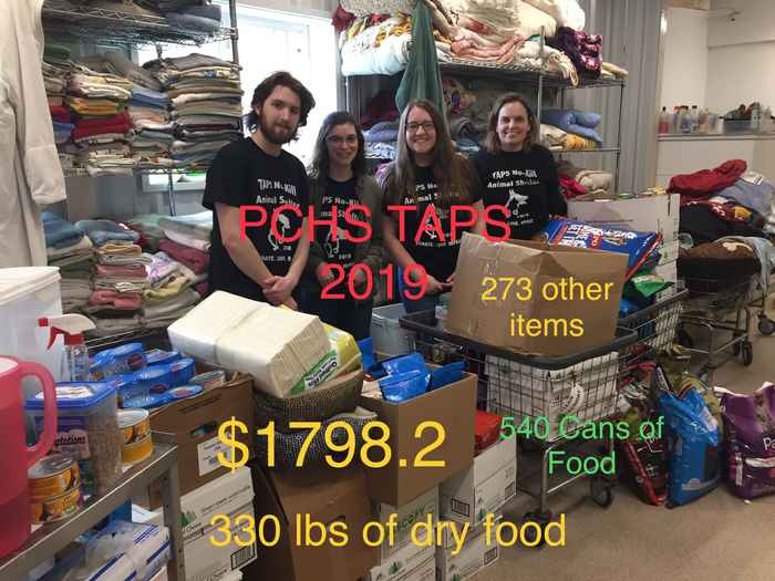 Totals for TAPS Fundraiser 2019! Class of 2019