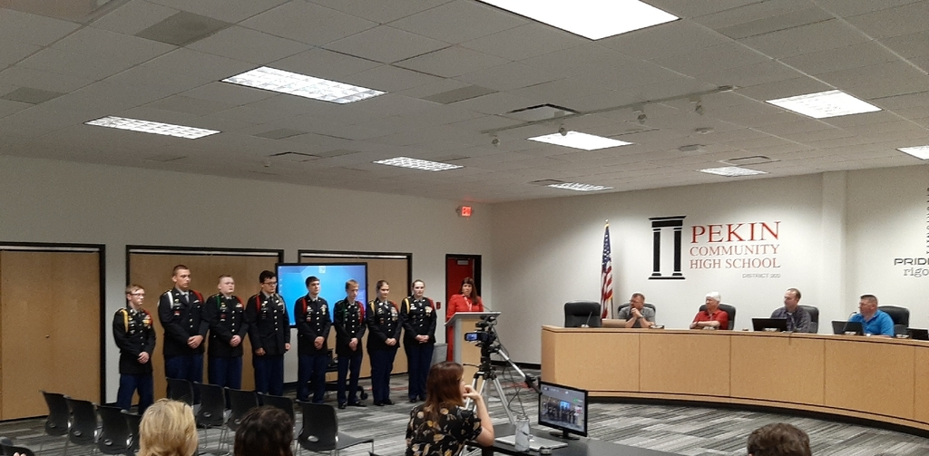 Pekin Jrotc Honor Guard