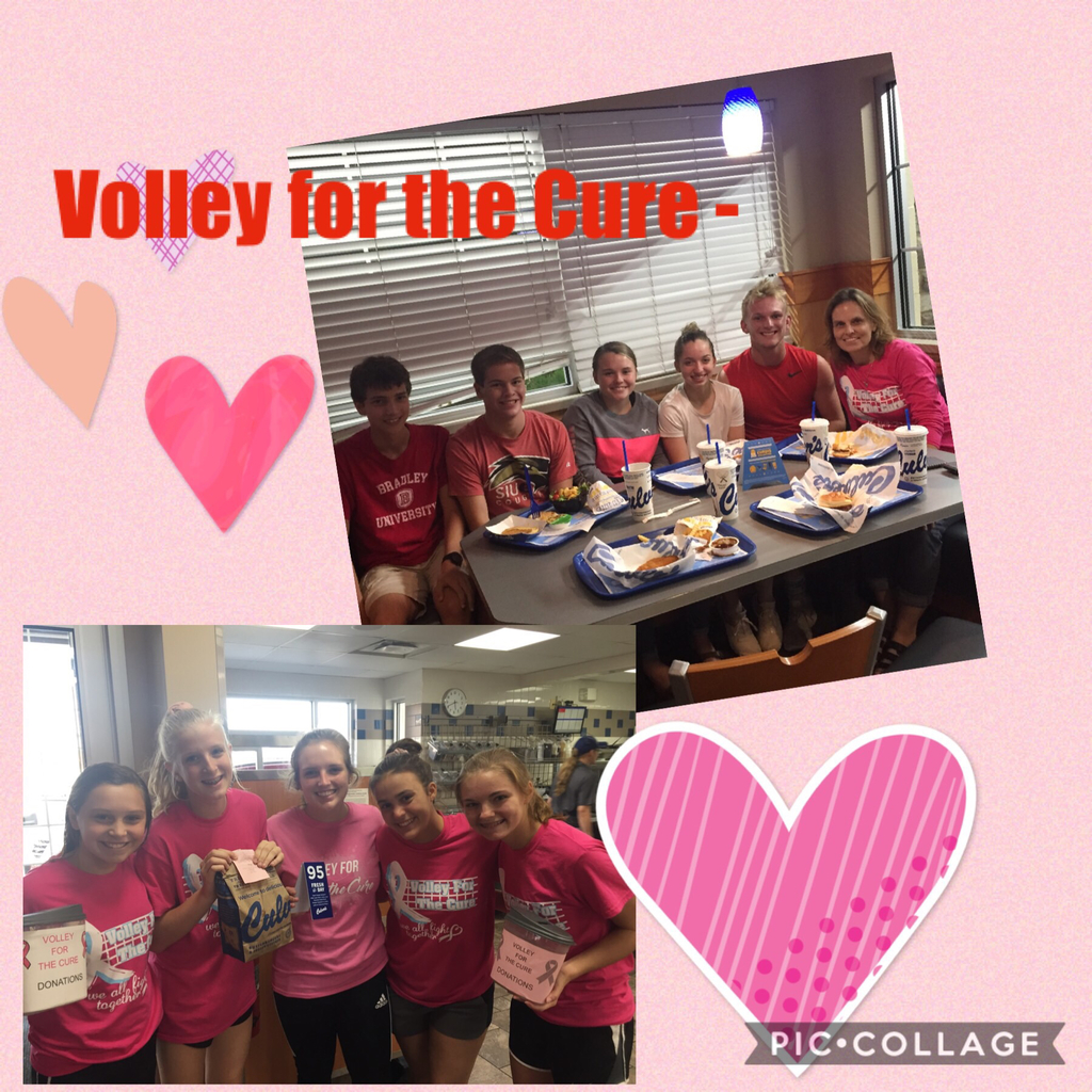 Volley for the Cure - Culver's night