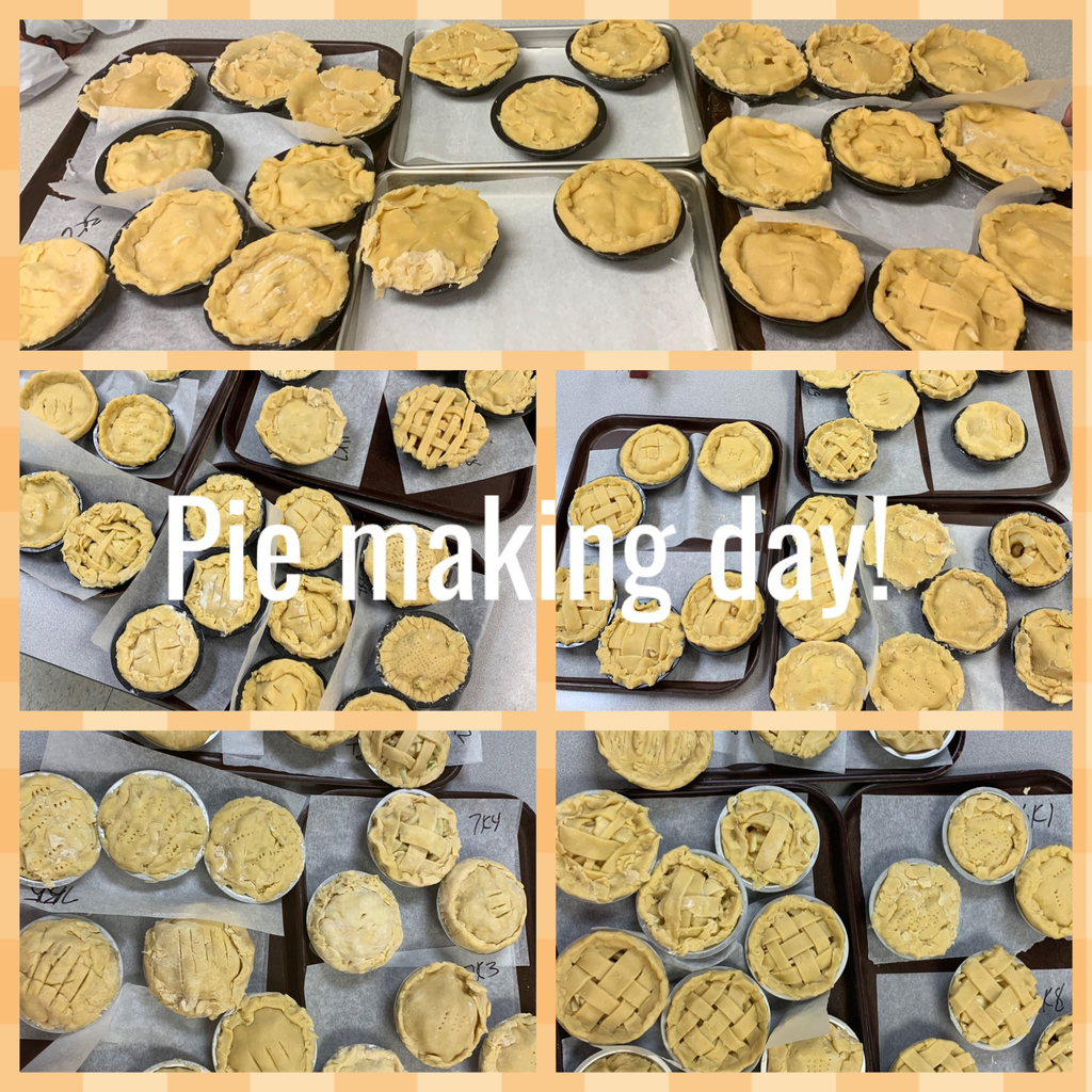 3rd-7th hour pies