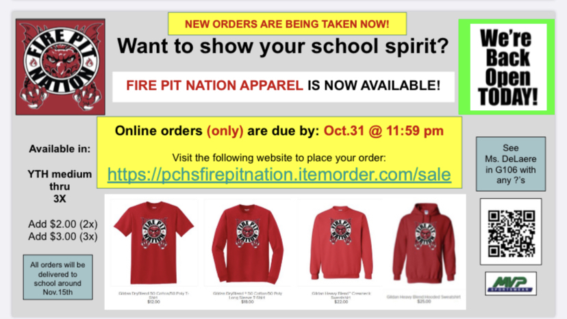 Fire Pit Nation apparel