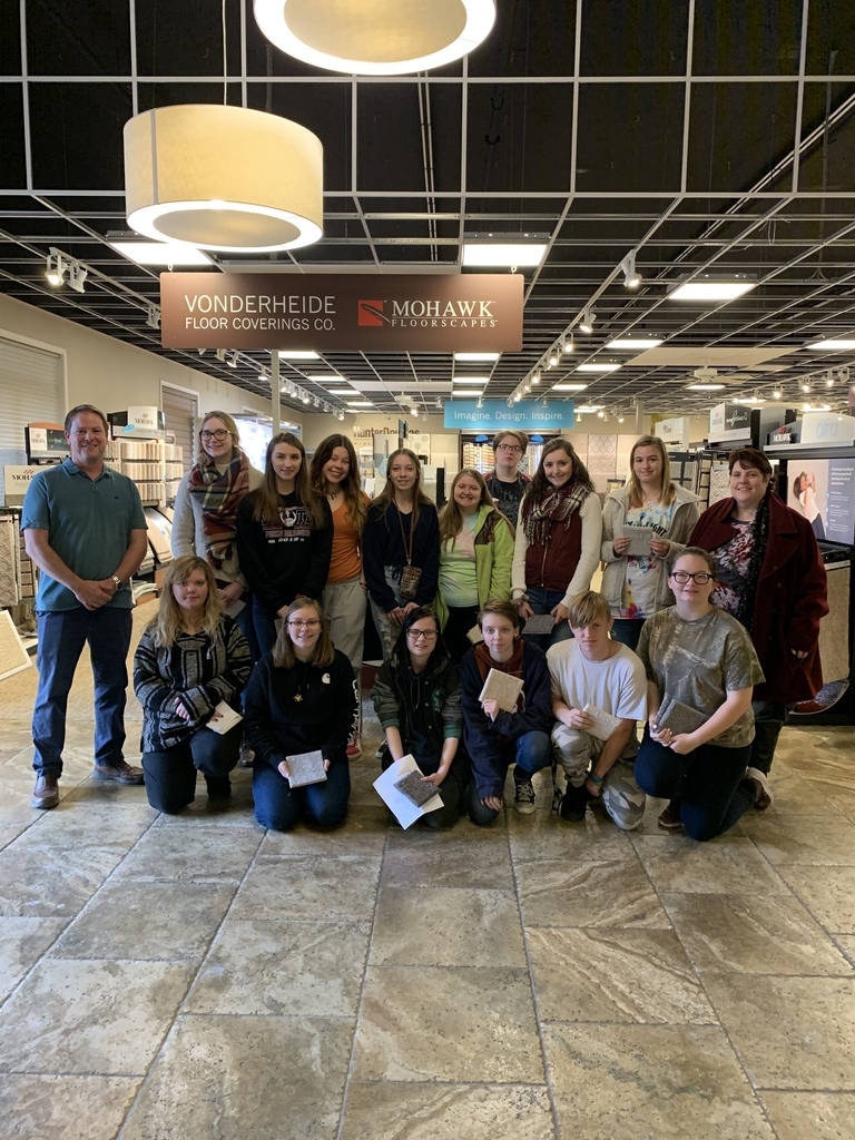 Interior Design class at Vonderheide Flooring