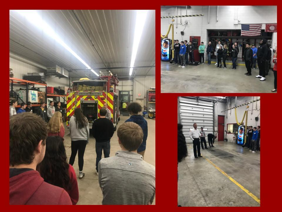 EMT/Fire Science Field Trip