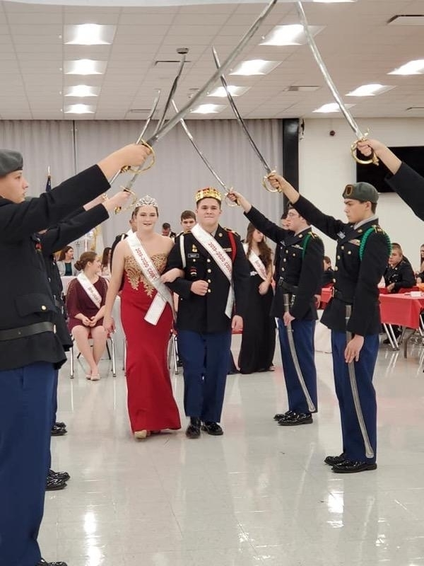 King and Queen Jrotc
