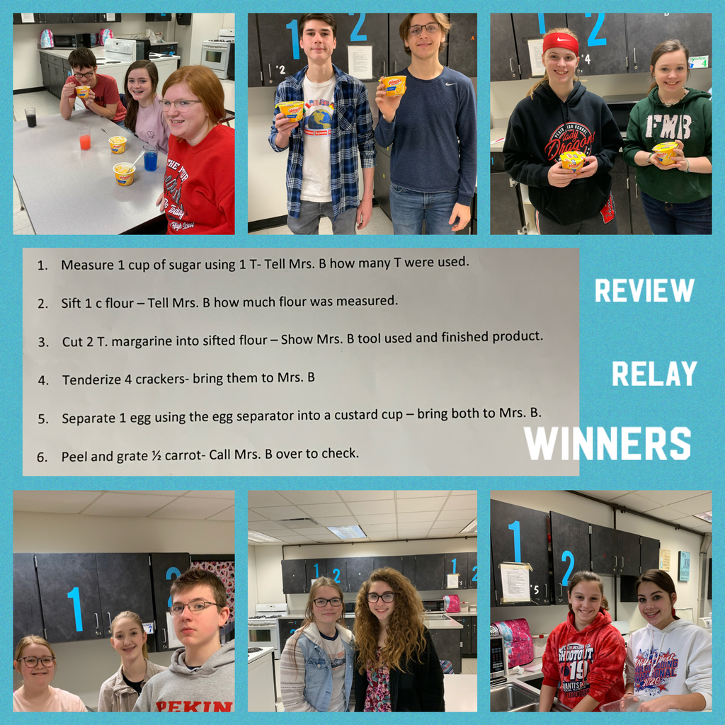 Review Relay Winners