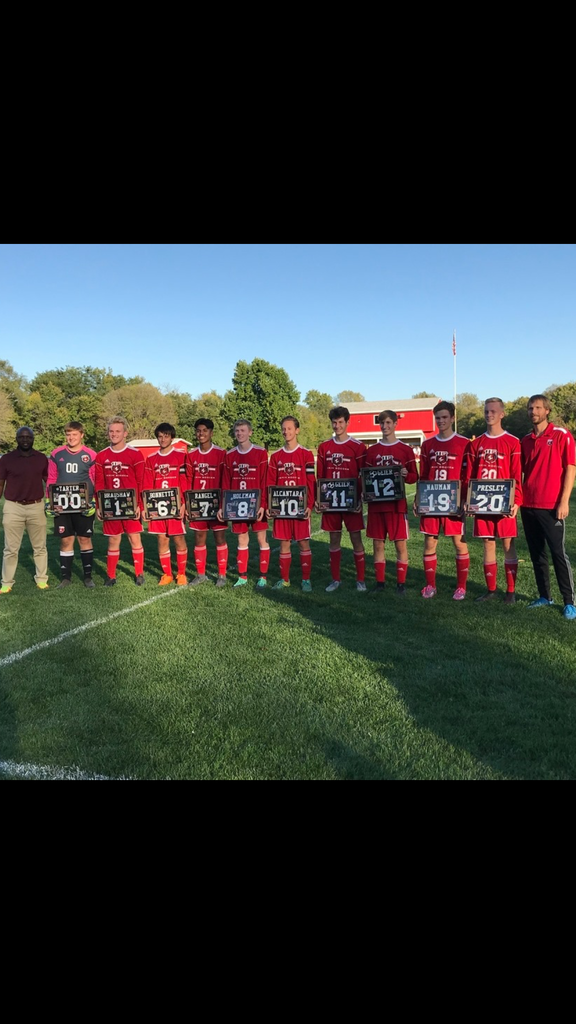 Soccer Boys Senior Night