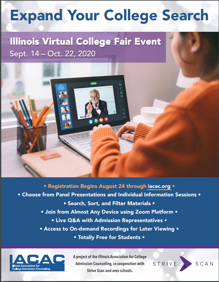 Virtual College Fair Event